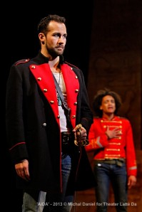 Jared Oxborough (Radames) and Nathan Barlow (Mereb)